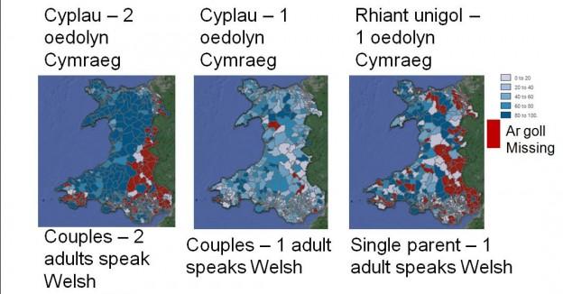 Trosglwyddo'r Gymraeg 2011
